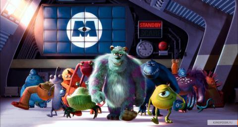 Кадр из мультфильма Корпорация монстров, 2001 год (11)