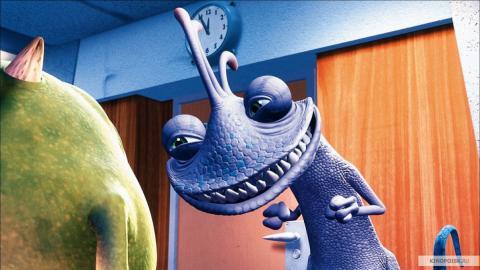 Кадр из мультфильма Корпорация монстров, 2001 год (12)