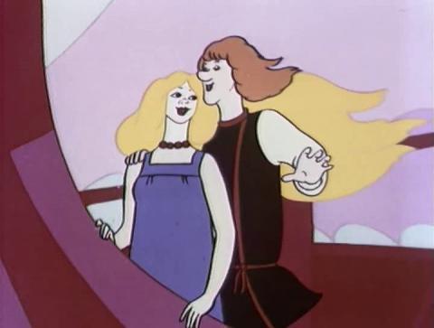 Кадр из мультфильма Летучий корабль, 1979 год (02)