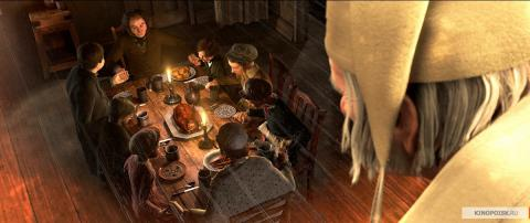 Кадр из мультфильма Рождественская история, 2009 год (03)