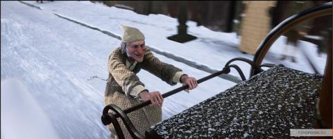 Кадр из мультфильма Рождественская история, 2009 год (09)