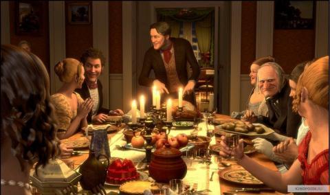 Кадр из мультфильма Рождественская история, 2009 год (10)