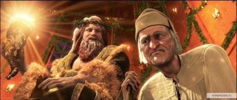 Кадр из мультфильма Рождественская история, 2009 год (11)