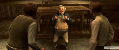 Кадр из мультфильма Рождественская история, 2009 год (12)