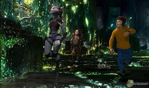 Кадр из мультфильма Тайна красной планеты, 2011 год (02)