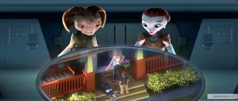 Кадр из мультфильма Тайна красной планеты, 2011 год (09)