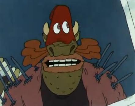 Кадр из мультфильма Ух ты, говорящая рыба!, 1983 год (02)