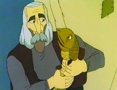 Кадр из мультфильма Ух ты, говорящая рыба!, 1983 год (03)