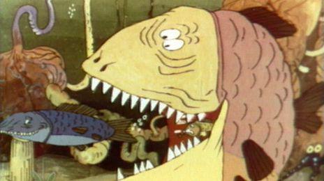 Кадр из мультфильма Ух ты, говорящая рыба!, 1983 год (04)