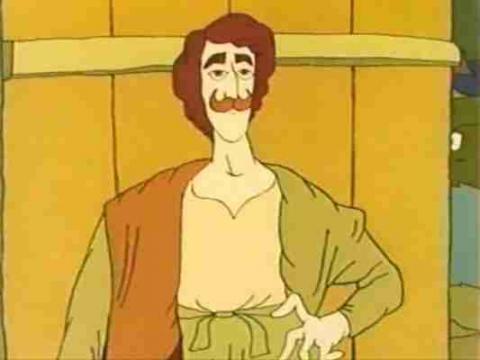 Кадр из мультфильма Ух ты, говорящая рыба!, 1983 год (05)