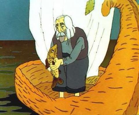 Кадр из мультфильма Ух ты, говорящая рыба!, 1983 год (06)