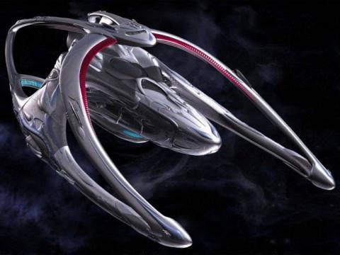 Картинка из сериала Андромеда, 2000-2005 год