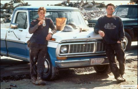 Кадр из фильма Умница Уилл Хантинг, 1997 год (06)